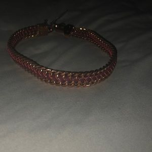 Henri bendel leather wrap bracelet